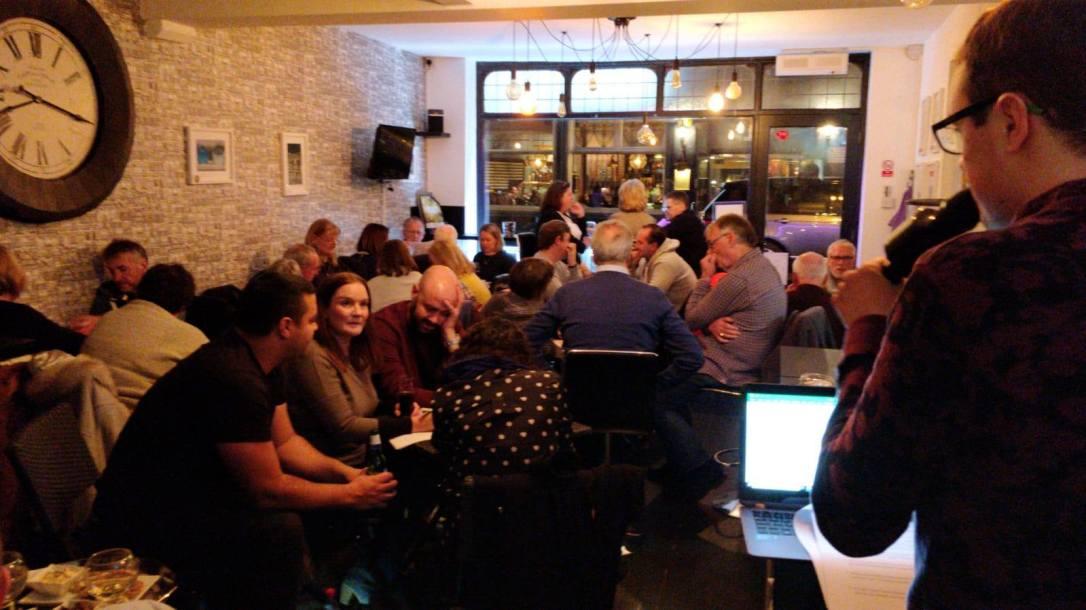 Horsham quiz night at Sophia's Bar