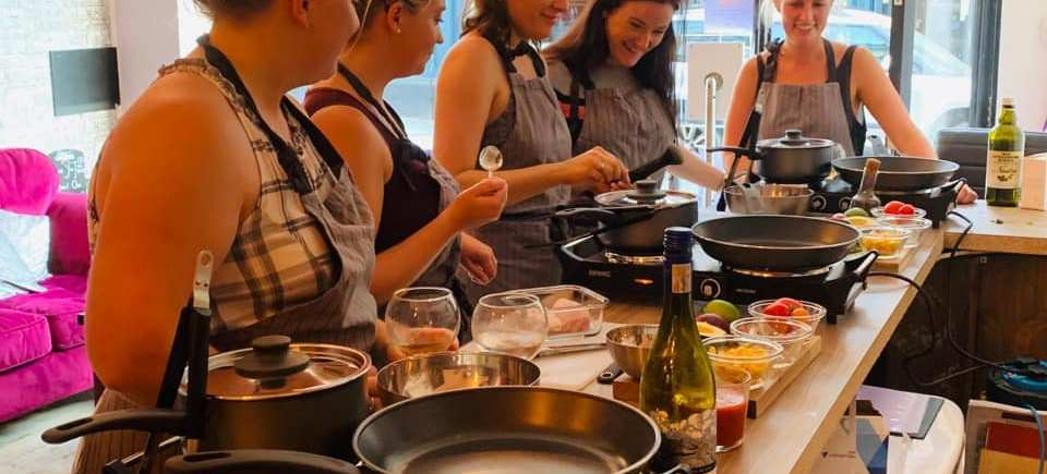 Mexican cooking classes at Sophia's Bar Horsham